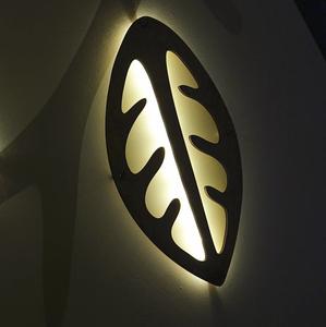 Bilde av Blad lampe - Selje